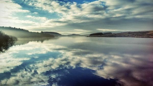 Reflections @ Stocks Reservoir, Gisburn Forest by 2MetrePeter