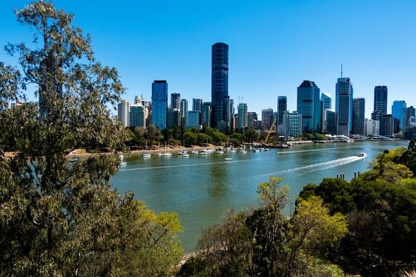 Downtown Brisbane. by terra