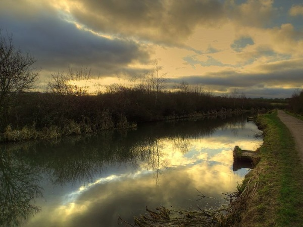 January Sunset by ianmoorcroft