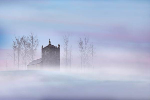 Misty Church by SamCampbell