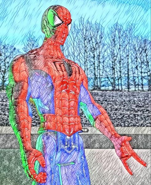 Spiderman by RLF