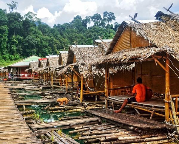 Fishing Village by sweetpea62