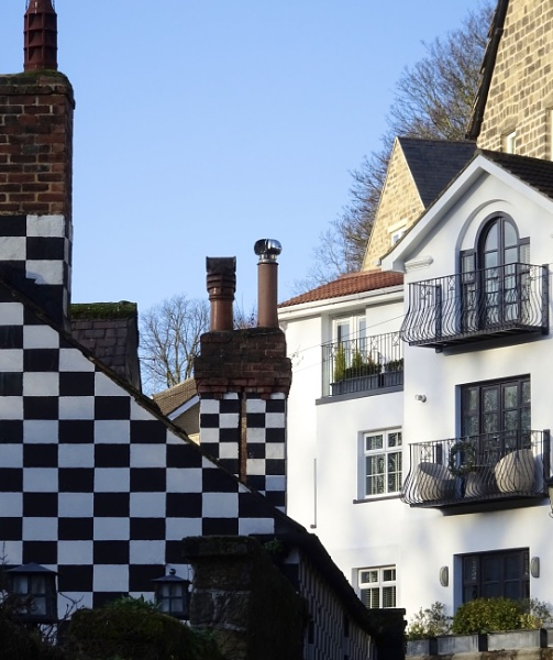 Houses in Knaresborough by dixy