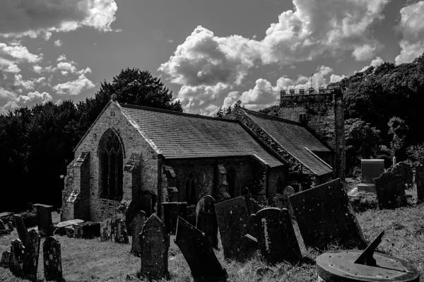 Nevern Church by woodini254