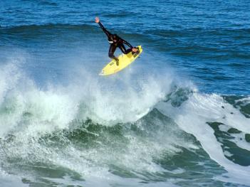 Surfing tricks