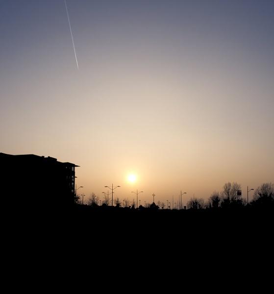 Malmö sunset by FotoDen