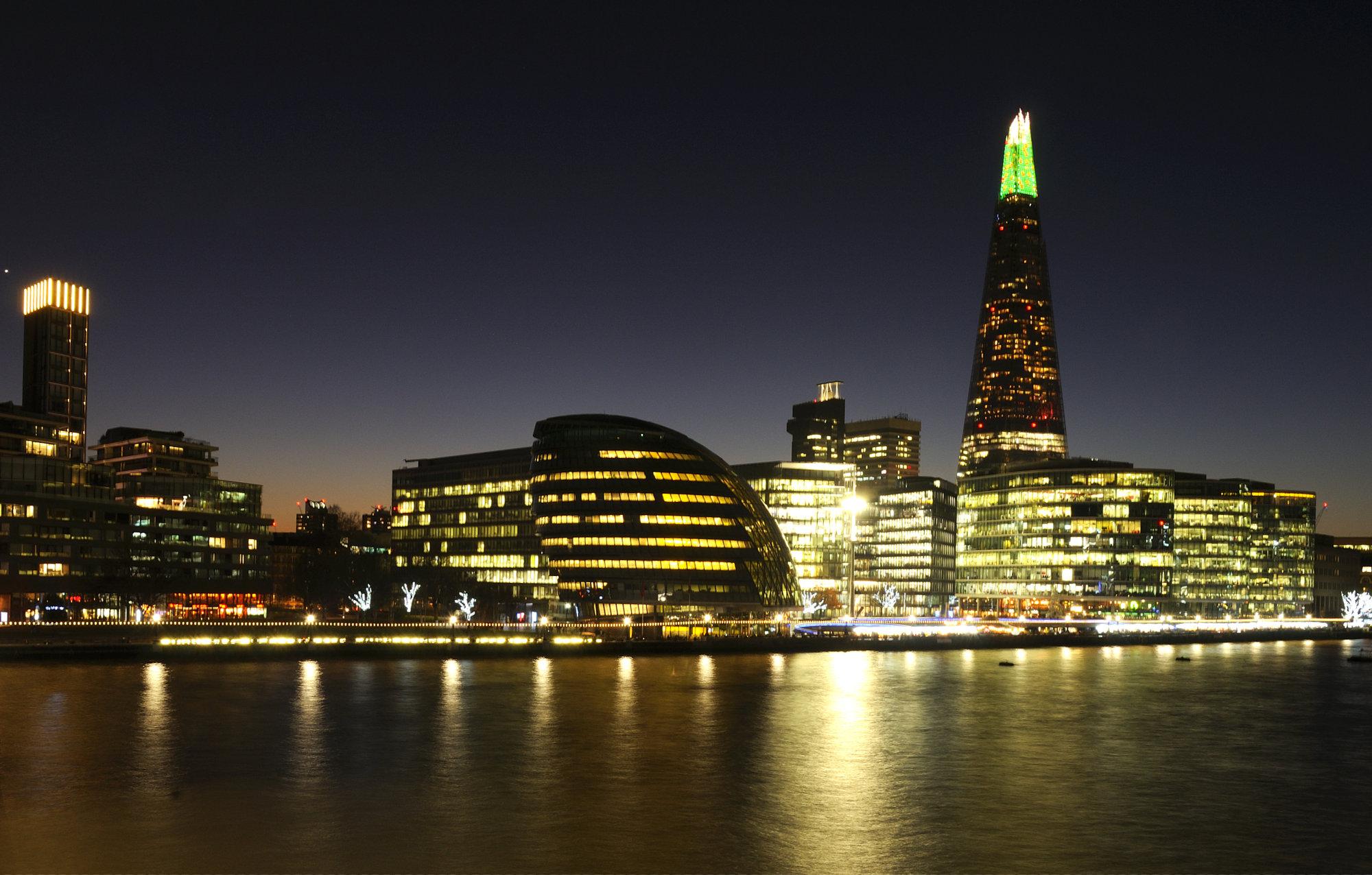 London City Hall and Shard