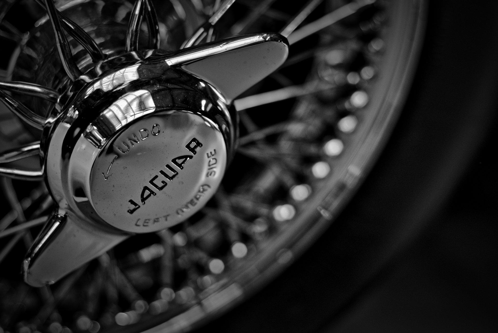 E-Type Jaguar rim Detail