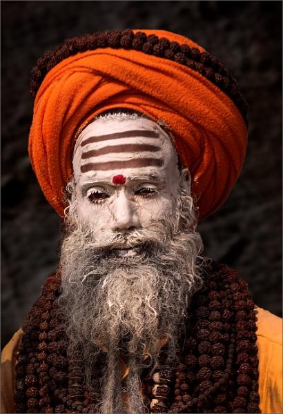 White faced sadhu