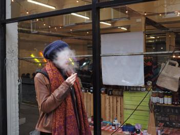 The smoke screen