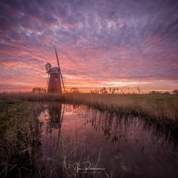 Mutton Mill at sunrise