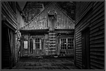 Inside the Bryggen