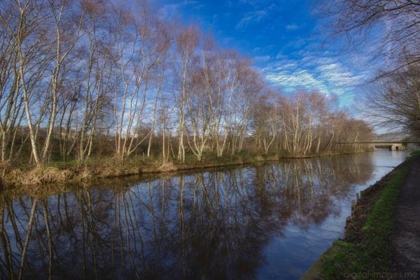 Canal Reflections III by Alan_Baseley