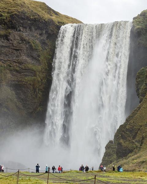 Skógafoss Waterfall by pdunstan_Greymoon