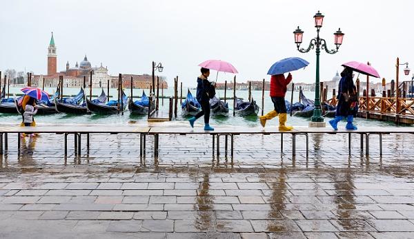 Rainy day in Venice...