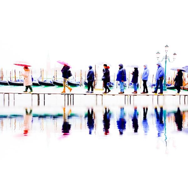 Umbrella reflections...