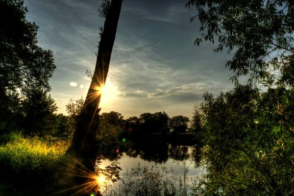 Sunset Reflection by woodini254