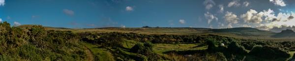 Presseli Hills Panorama by woodini254