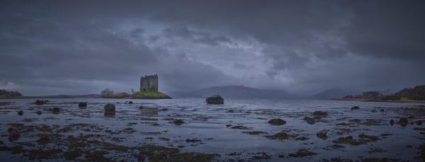 The Castle of Aaaaarrrrrrggghhh Panorama by jarvasm