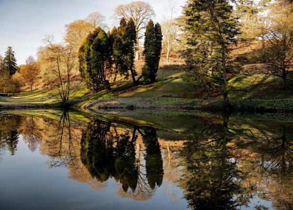 Reflections at Powis Castle by cegidfa