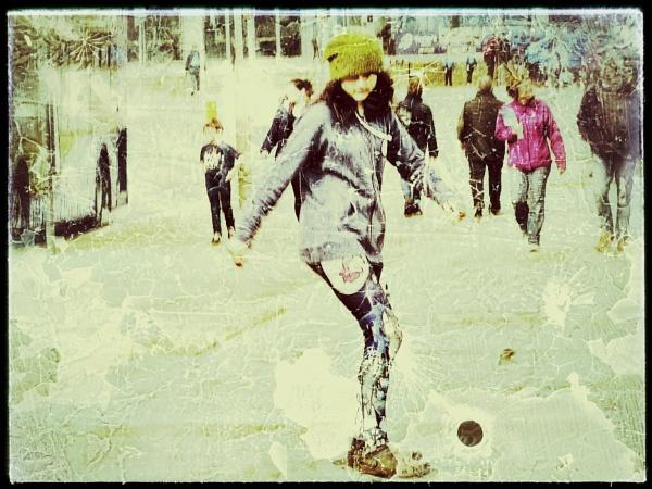 The Skateborder. by Monochrome2004