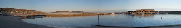 Lyme Regis Panorama by starckimages