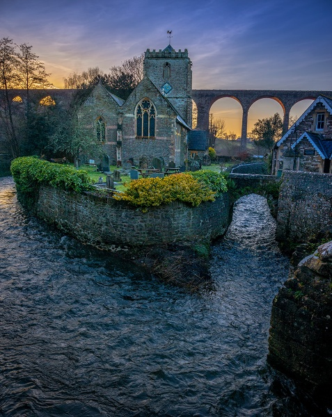 Pensford Church by Pricey