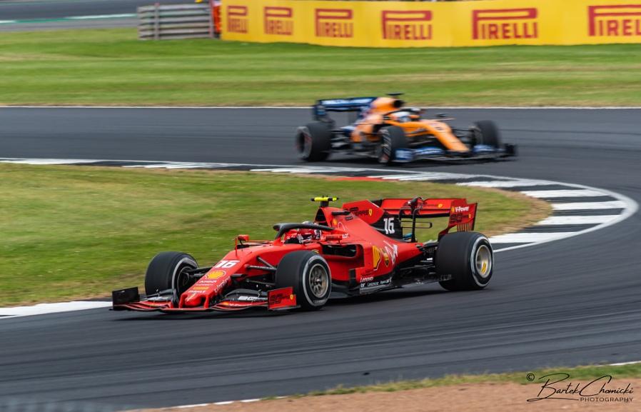 Charles Leclerc (Ferrari) at Silverstone