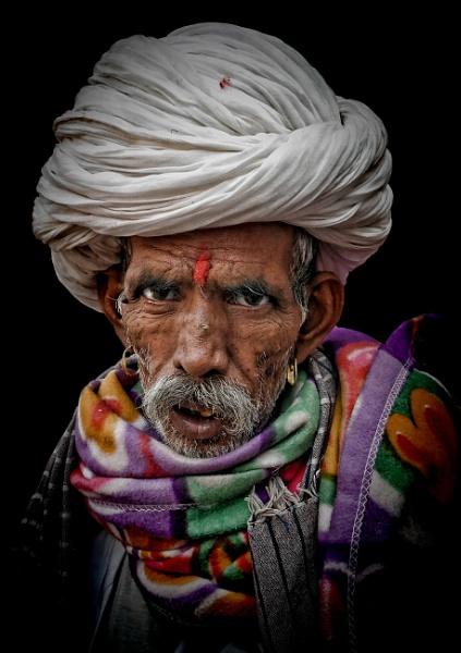 Rajasthani man by sawsengee