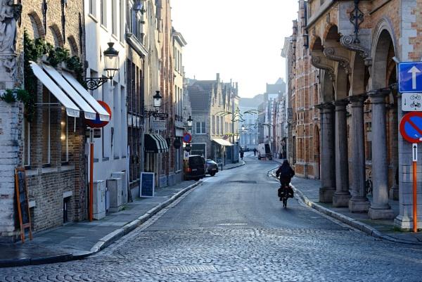 Bruges Street by gerryg