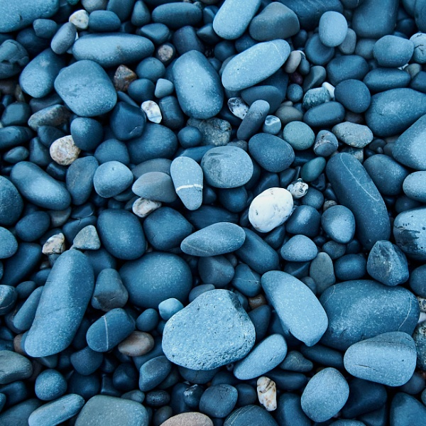 pebbles by Meditator