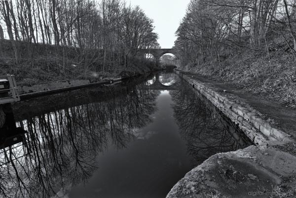Canal Reflections V by Alan_Baseley