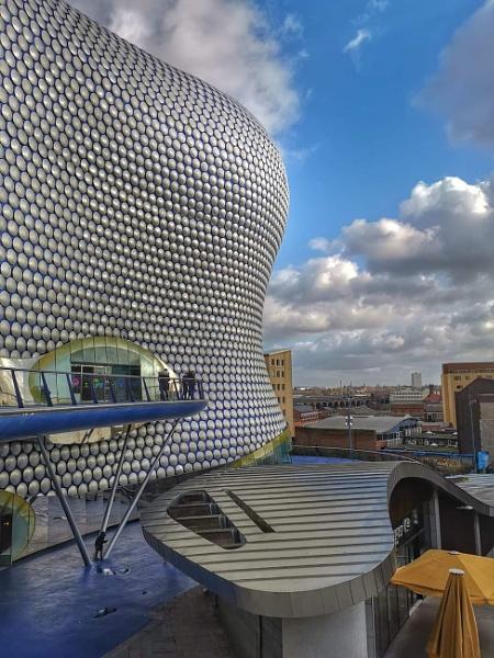 Birmingham City Centre  England by StevenBest