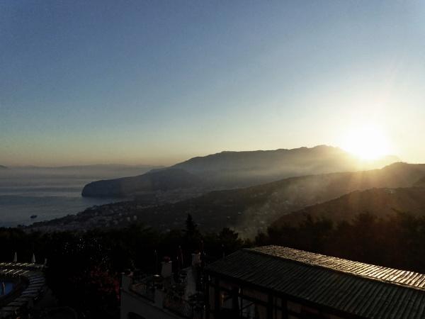 Sunrise over Sorrento by mj.king