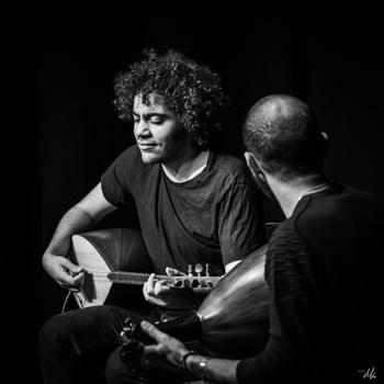 Egyptian jazz duo