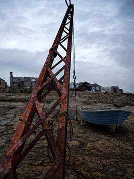 Rusty Boat Lift