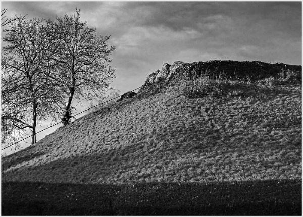Castle Mound by AlfieK