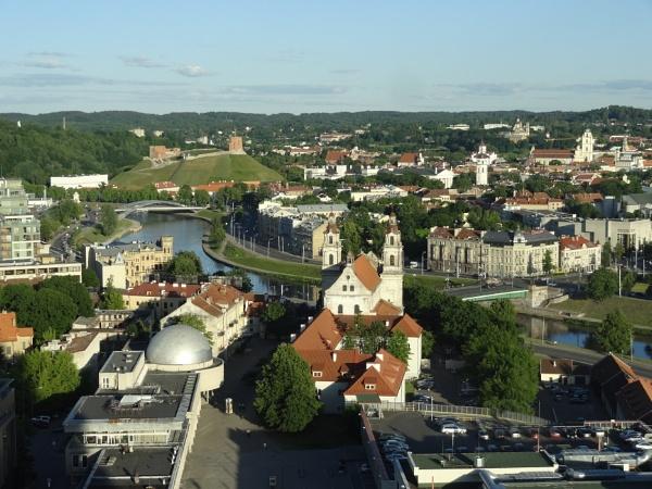 Vilnius with shadows by SauliusR