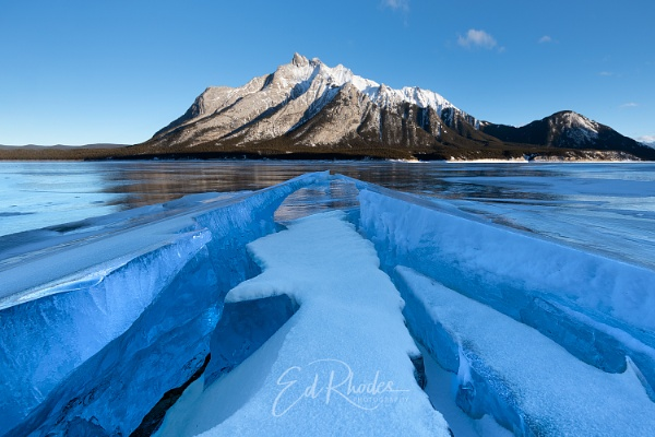 Abraham Lake by edrhodes