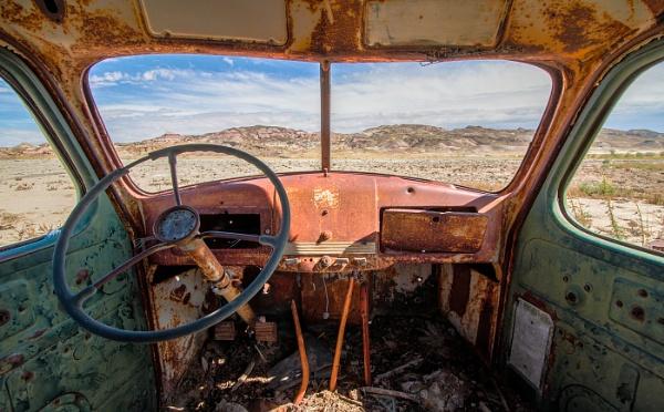 Old Truck in the Desert by natrpixvet