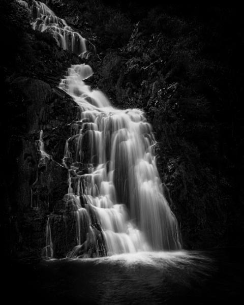 Alternative View of Assaranca Waterfall by swilliams71