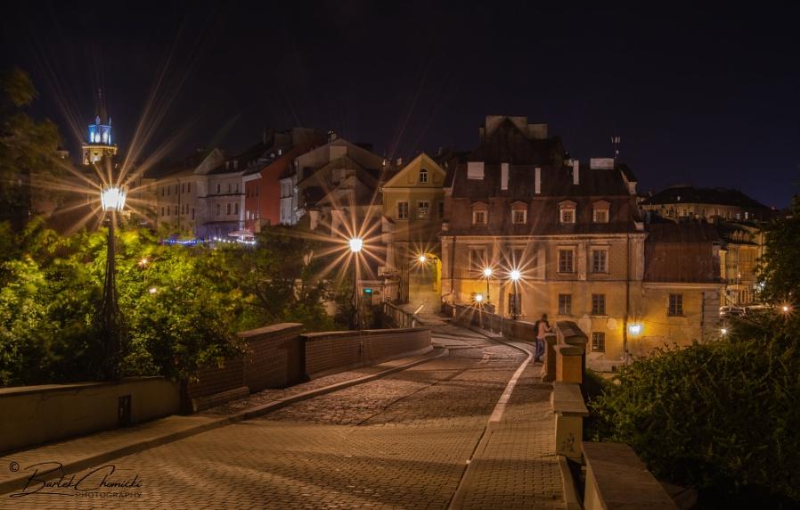 Grodzka Gate by night