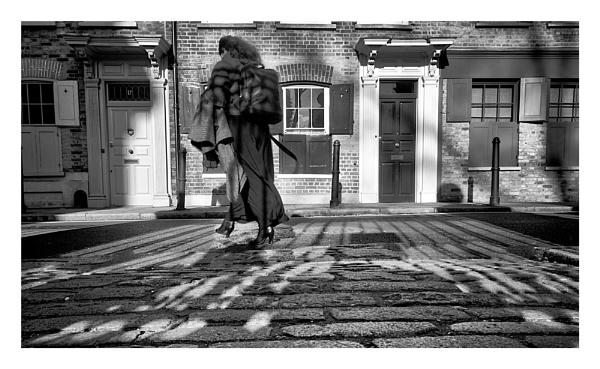 Cobbled Street by Phillbri