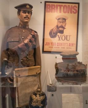 Military exhibition.
