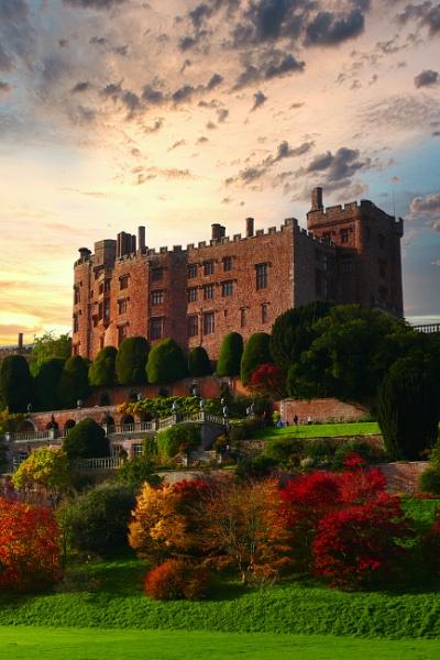 Powys Castle by alandeja