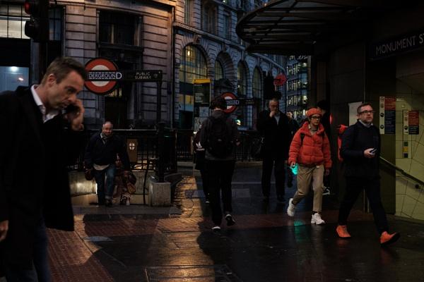 London bustle by iNKFIEND