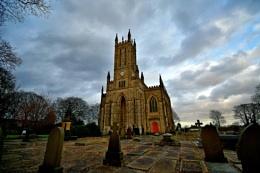 All  saints  church  Stand