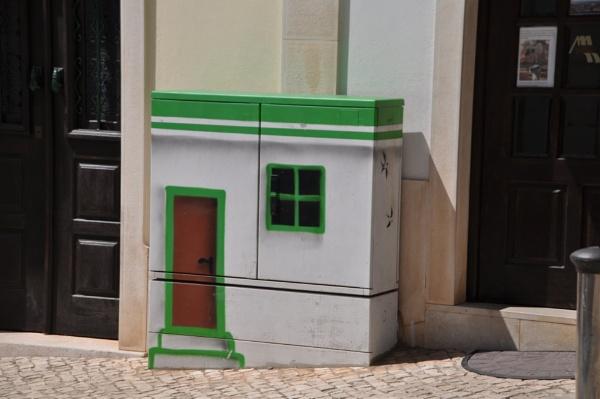 Street Boxes & Shadows... by Chinga