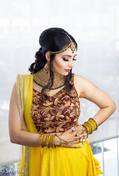 Bridal Portrait... by Swarnadip