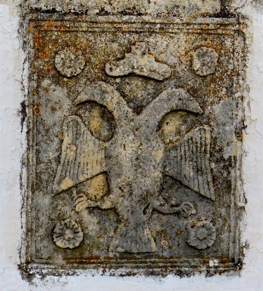 Old Plaque. by ddolfelin